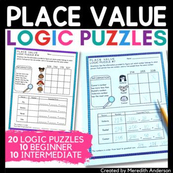 Place Value Logic Puzzles