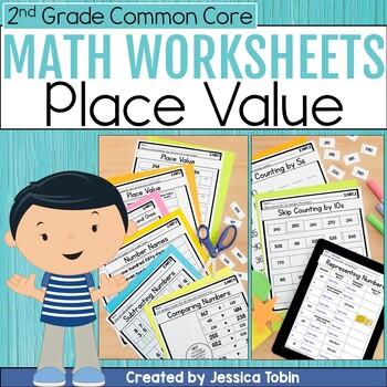 Base ten worksheets 2nd grade