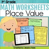 1st Grade Math Printables Worksheets- Numbers and Operations in Base Ten NBT