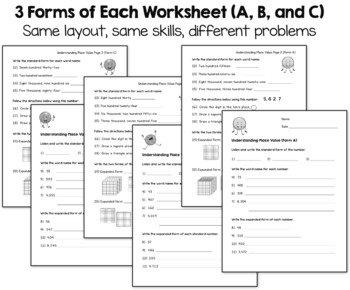 Place Value Worksheets 3rd Grade