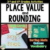 Place Value With Rounding, Posters, and Vocabulary