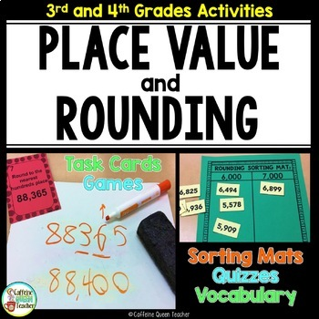 Place Value With Rounding For Number Sense With Activities