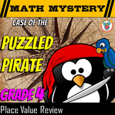 4th Grade Place Value Distance Learning Review Activity - Rounding, Converting