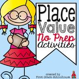 Place Value No Prep Activities