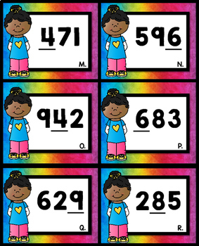 3 Digit Place Value Game