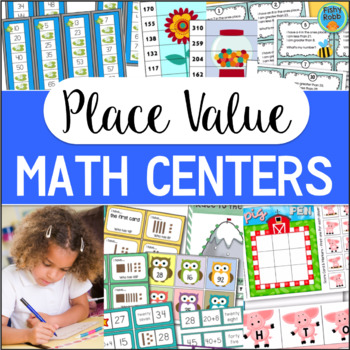 Place Value Centers BIG Bundle for 1st-2nd Grade