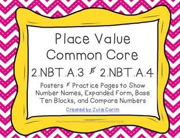 Place Value 2.NBT.A.3 and 2.NBT.A.4