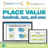 Place Value 2nd Grade | Interactive Boom Cards™ and Google