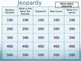 Place Value 3-Digit Jeopardy