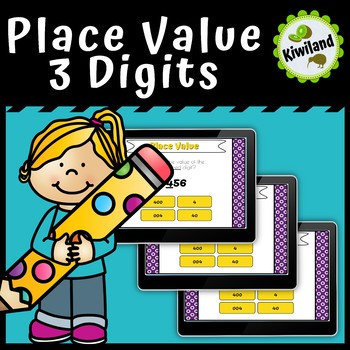 Place Value 3 Digits - Boom Learning Cards