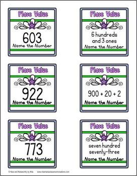 Place Value (3 digit)