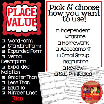 Place Value 3rd