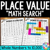 3rd Grade Place Value Worksheets: Comparing Numbers, Rounding Numbers 3.NBT.1