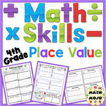 Place Value Activities - 4th Grade