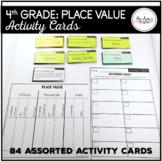 Place Value - 4th Grade Activity Cards