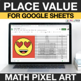 Place Value 4th Grade Digital Math Pixel Art - Distance Le