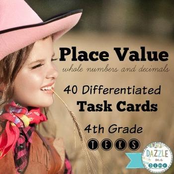 Place Value 4th grade TEKS