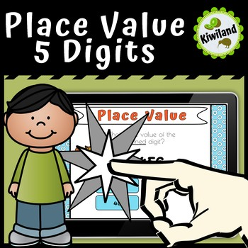 Place Value 5 Digits - Boom Cards