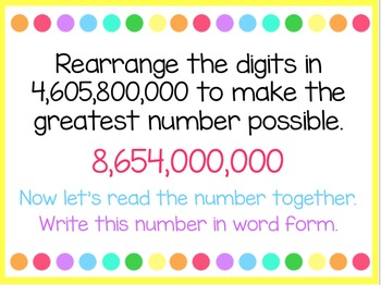 Place Value (5th Grade enVision Power Point)