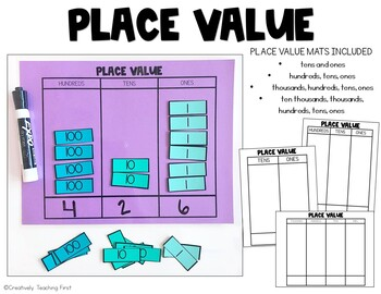 Place Value {A Hands On Learning Activity}