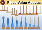 Place Value Abacus Clipart
