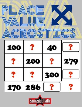 image about Acrostic Puzzles Printable identify Stage Expense Acrostic Puzzles: Full Quantities, Deductive Reasoning Pleasurable!