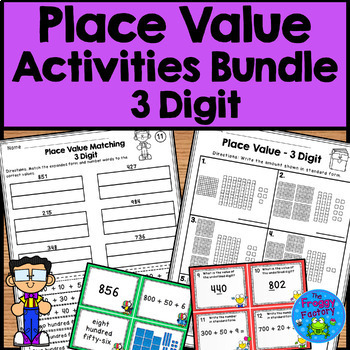 Place Value Worksheets and Activities - 3 Digit
