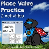 Place Value Activities- Using Blocks, Numeral & Expanded F