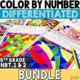 Place Value Activities | 5th Grade NBT.1 and 2 BUNDLE