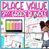 Place Value Activities Bundle for 3rd Grade