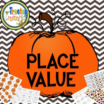 Place Value Activities Fall Theme