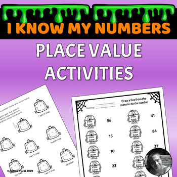 Place Value Activities -- Halloween Themed
