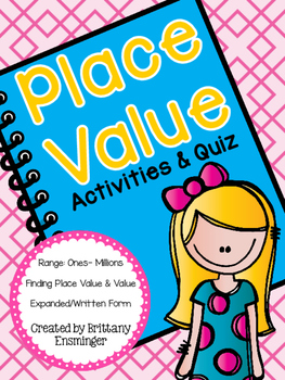 Place Value (Activities & Quiz)