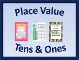 Place Value Activities Bundle: Tens & Ones