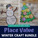 Place Value  Winter Craft Bundle