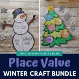 Place Value  Winter Craft Bundle