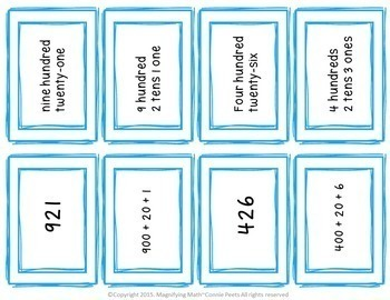 Place Value Activities and Games Grade 2 and RTI