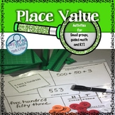 Place Value Activities and Games Grade 2 and RTI Bundle