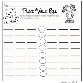 Place Value Activities and Printables Second Grade