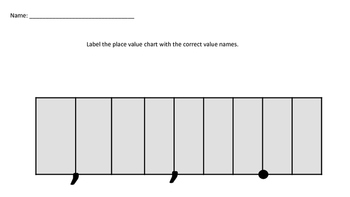 Place Value Activities and Worksheets