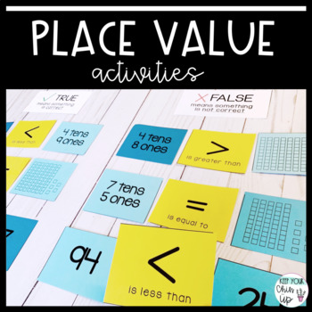 Place Value Activities for First Grade