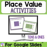 Place Value Activities for Use With Google Slides™ (Distan