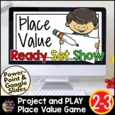 Place Value Activity 2nd Grade 3rd Grade | Interactive Place Value Game & Review