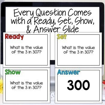 Place Value Activity 2nd Grade 3rd Grade   Interactive Place Value Game & Review