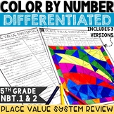 Place Value Activity   5th Grade NBT.1 and 2