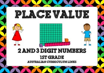 Place Value Activity Cards: 1st Grade