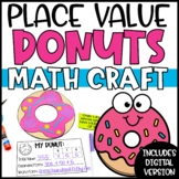 Place Value Activity   Donuts Place Value Craft