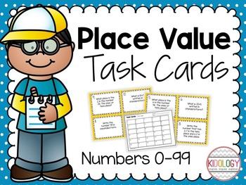 Place Value / Base Ten / Task Cards