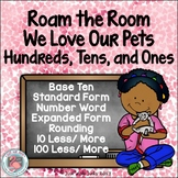 Place Value Activity Hundreds, Tens, and Ones Valentine's