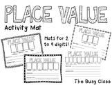 Place Value Activity Mat